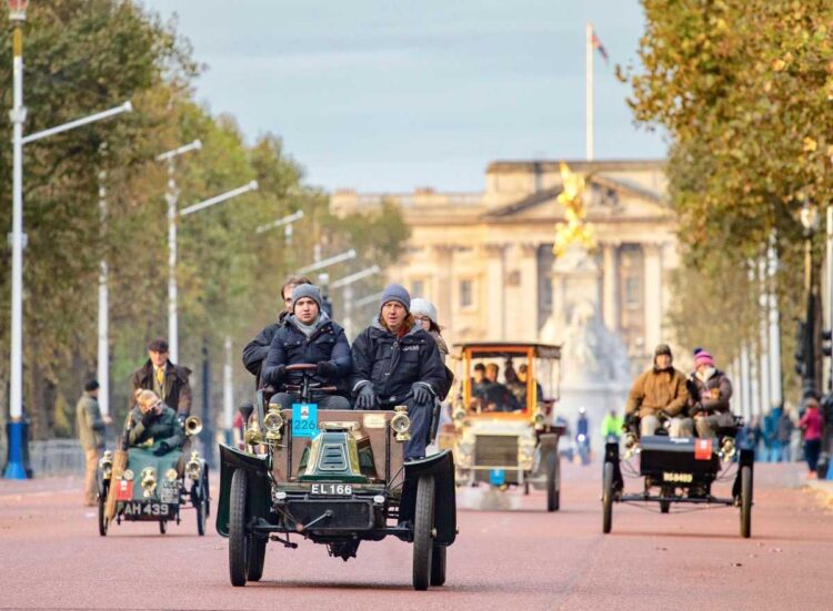 2020 London to Brighton Veterans Car Run