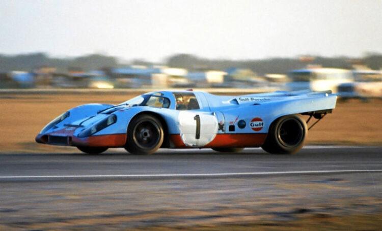 The #1 Gulf Porsche 917