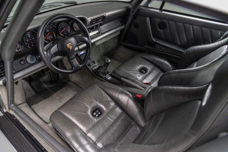 Interior of 959