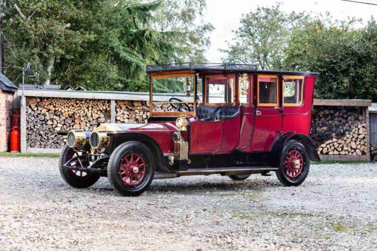 1911 Rolls-Royce 4050hp Silver Ghost