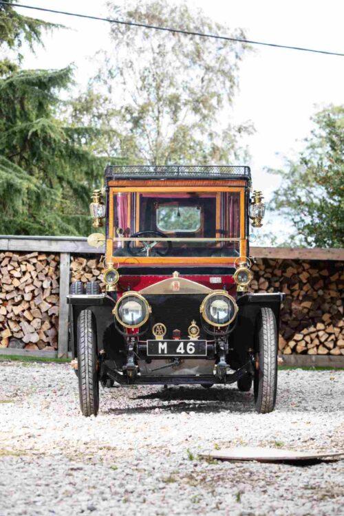 Avant de 1911 Rolls-Royce 40 / 50ch Silver Ghost Tulip-Backed semi-ouvert traction Pullman Limousine