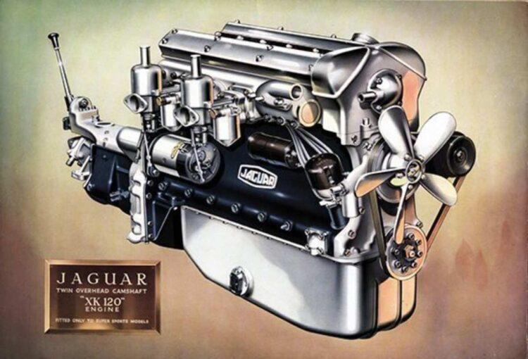 Jaguar XK 120 Engine