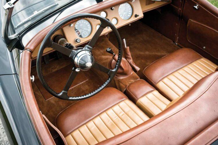 interior of 1950 Jaguar XK 120 Alloy Roadster