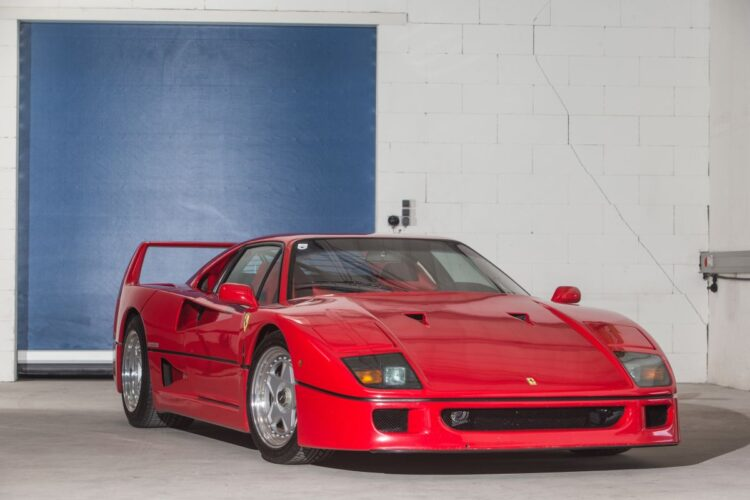 1990 Ferrari F40 at RM Sotheby's 2020 London Auction