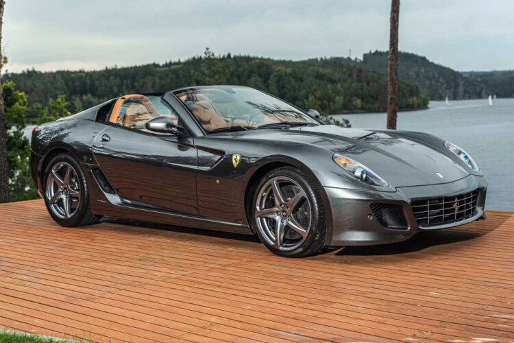 2011 Ferrari 599 SA Aperta at 2020 RM Sotheby's London Auction