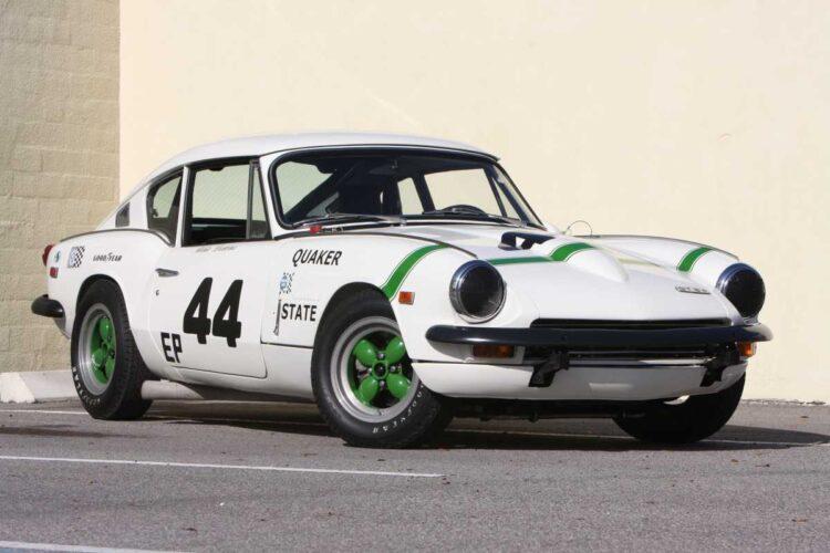 1969 Triumph GT6+ Group 44 Factory SCCA Racing Car.