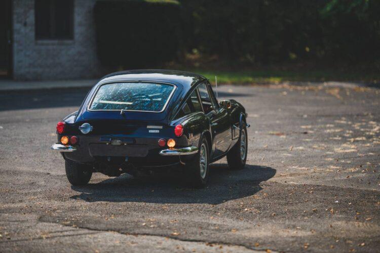 rear of the Triumph Mk II