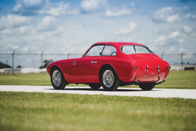 rear of 1952 Ferrari 225 S Berlinetta by Vignale