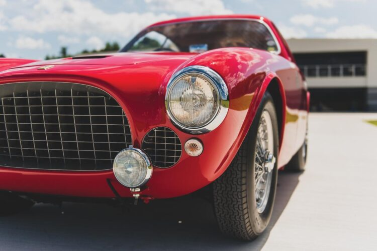 grille of 1952 Ferrari 225 S Berlinetta by Vignale