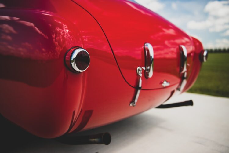 exhaust of 1952 Ferrari 225 S Berlinetta by Vignale