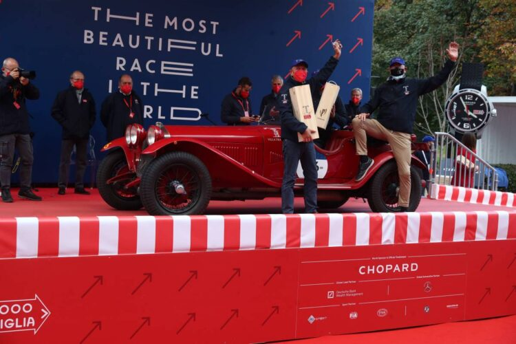 1st Andrea and Roberto Vesco - Alfa Romeo 6C 1750 SS Zagato of 1929 number 46