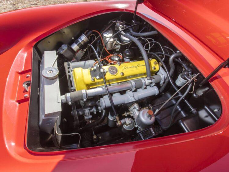 Engine of the lotus elite