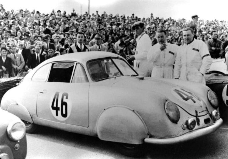 1951 Le Mans Porsche 356 SL
