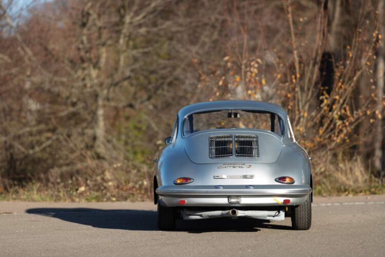 rear of 1962 Porsche 356 B Carrera 2 Coupé