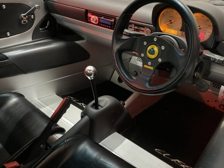 interior of Lotus Elise