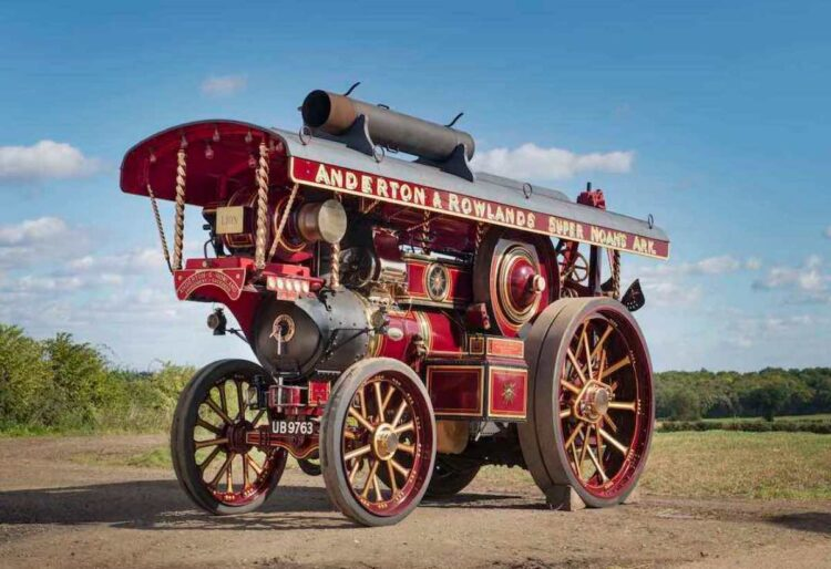 Lion Fowler Steam Engine