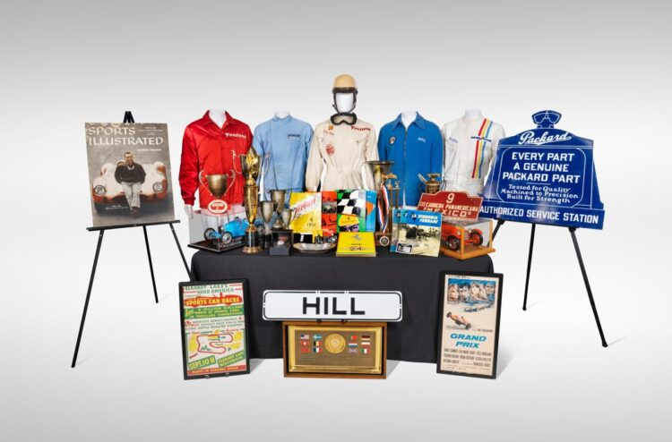 Phil Hill Auction