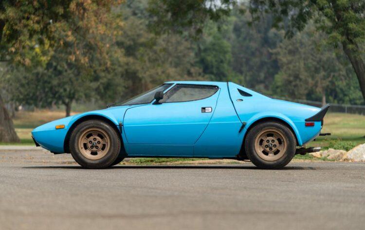 side of 1975 Lancia Stratos HF Stradale