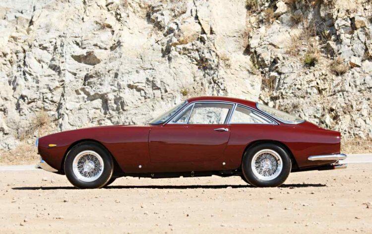 1964 Ferrari 250 GT Lusso side profile