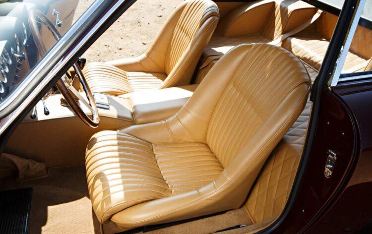 Interior of Ferrari 250 GT Lusso