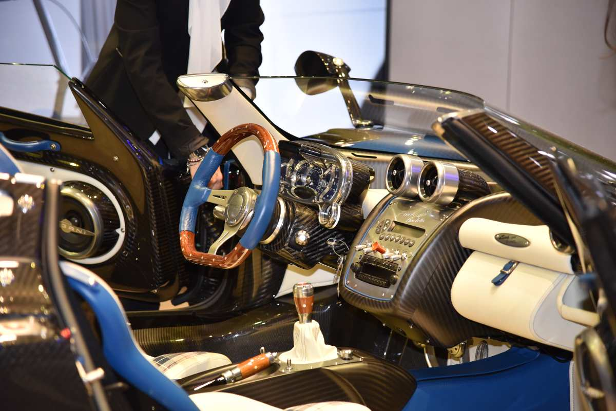 Pagani Zonda Hp Barchetta Interior Sports Car Digest The Sports Racing And Vintage Car Journal