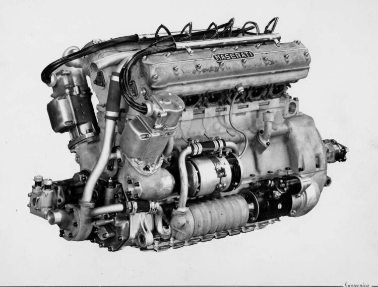 Maserati Tipo 300s engine