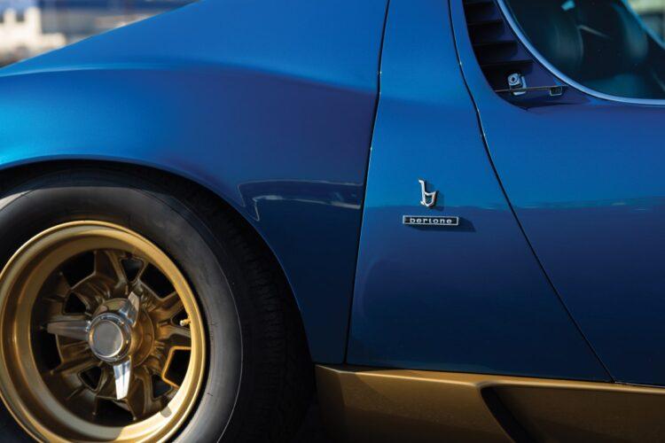 wheels of 1971 Lamborghini Miura P400 SV