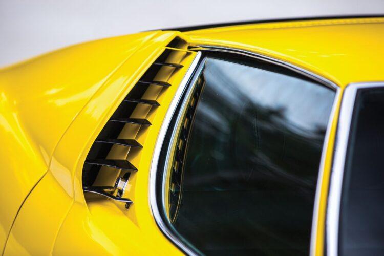1969 Lamborghini Miura P400 S window