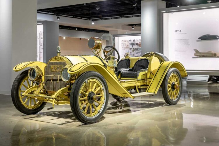 Peterson Museum with 1913 Mercer Type 35-J Raceabout