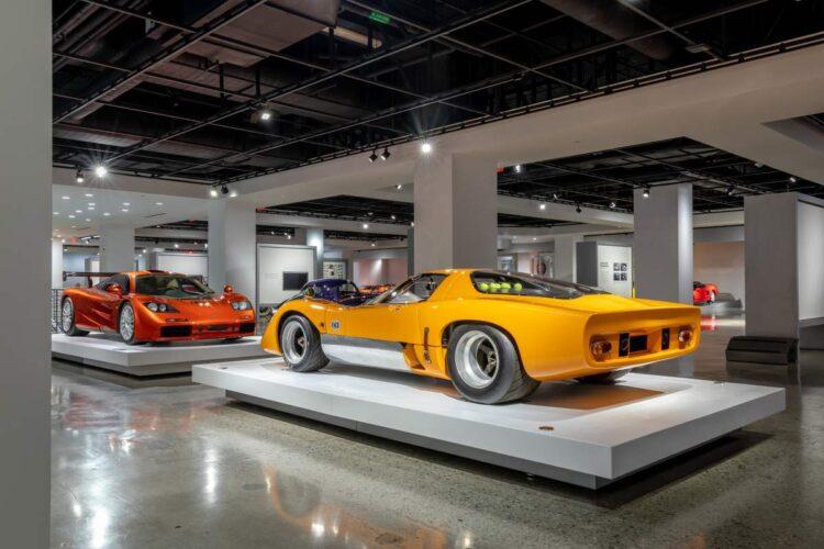 rear of 1969 McLaren M6GT
