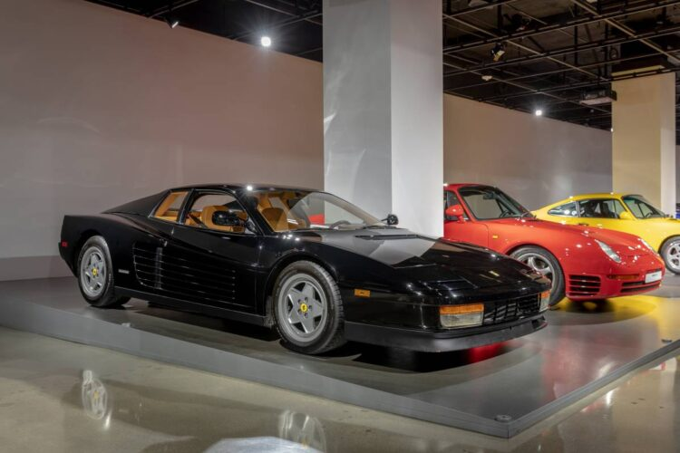 Petersen Automotive Museum 1989 Ferrari Testarossa
