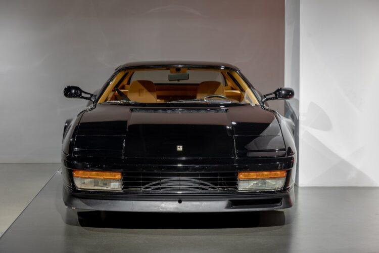 front of 1989 Ferrari Testarossa