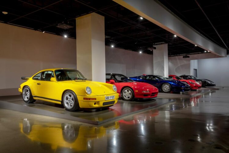 1989 RUF Porsche CTR Yellowbird #001