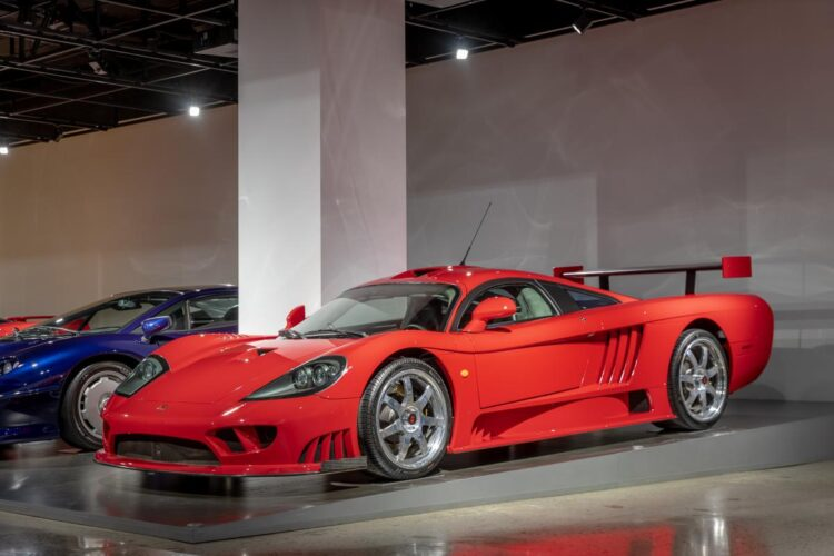 2003 Saleen S7 with Competition Package