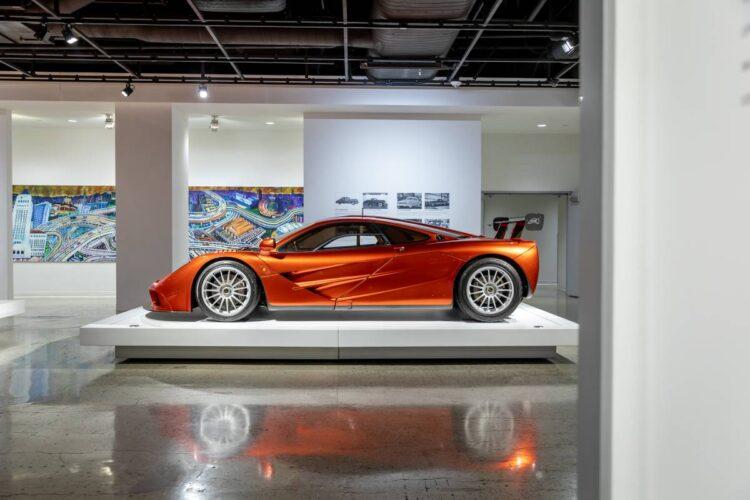 side of 1998 McLaren F1