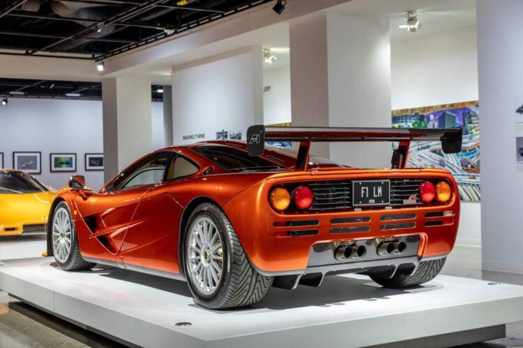 back of 1998 McLaren F1