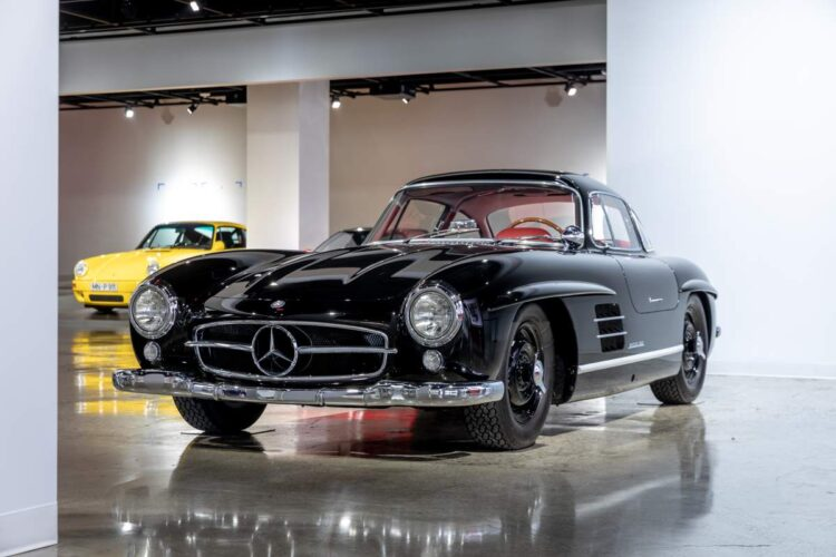 Petersen Automotive Museum Mercedes-Benz 300SL Gullwing