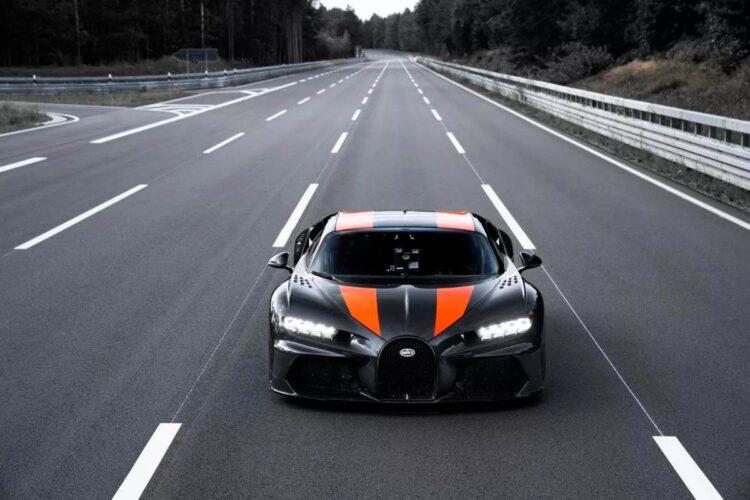 Front of Bugatti Chiron Super Sport 300+