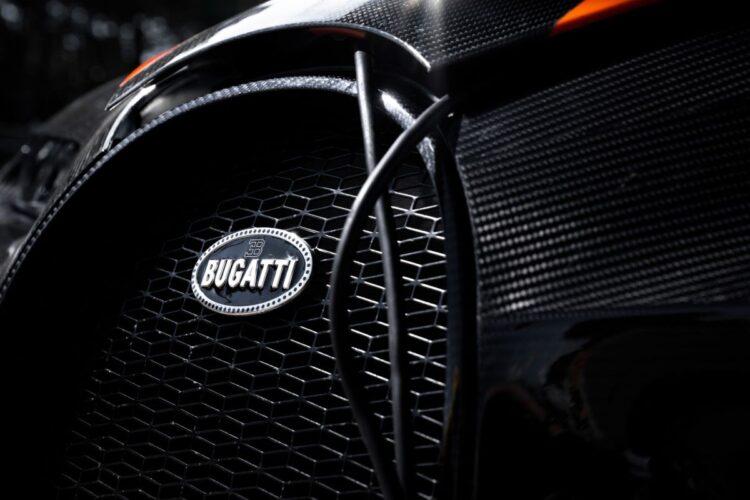 Grill of Bugatti