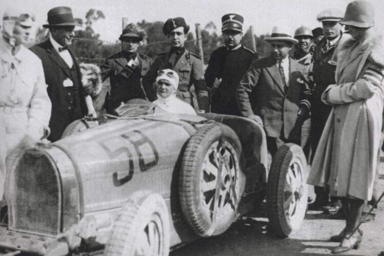 Bugatti Type 35B at the 1928 Targa Florio