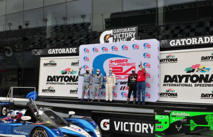 victory in the 2020 HSR Daytona Classic 24 Hour