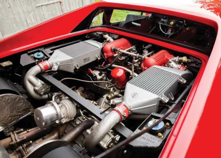 Engine of 288 GTO