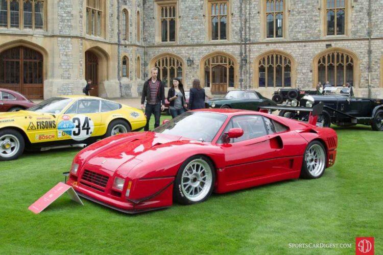 side of 288 GTO Evoluzione