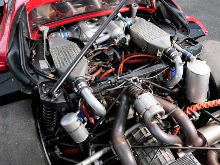 engine of 288 GTO Evoluzione