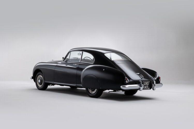 rear of 1953 Bentley Continental Sports Saloon