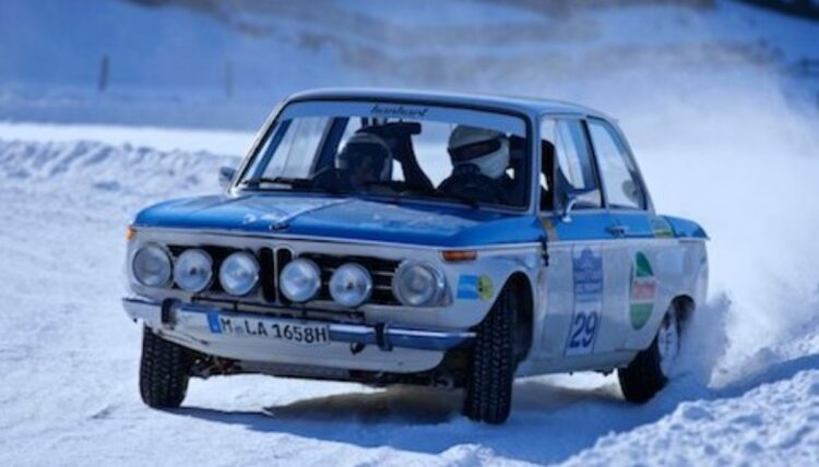 1969 BMW 2002 Ti Works Rally Car