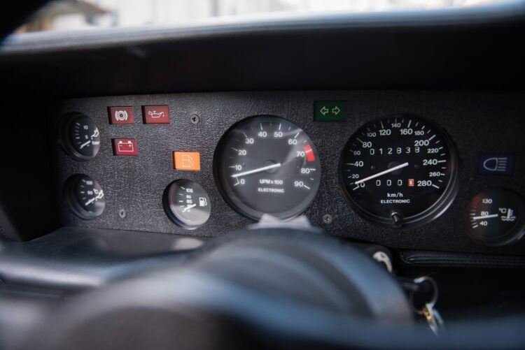 dashboard of M1