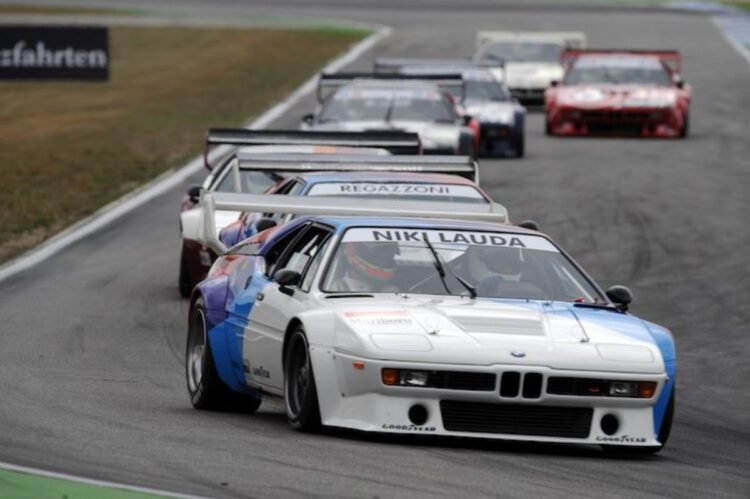 Niki Lauda in BMW M1