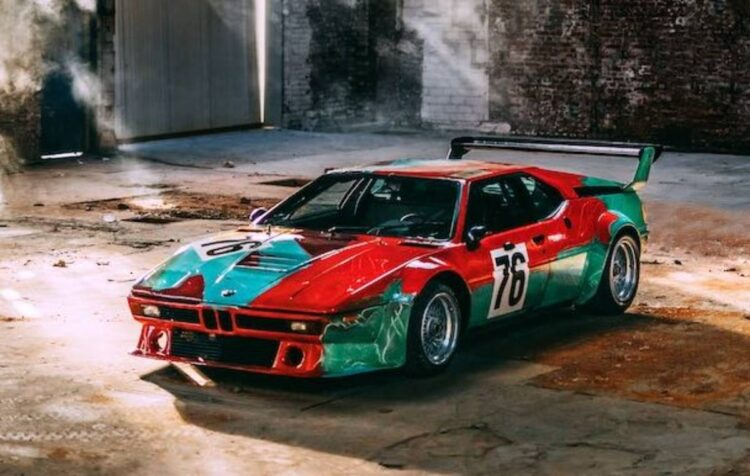 Andy Warhol M1 Art Car