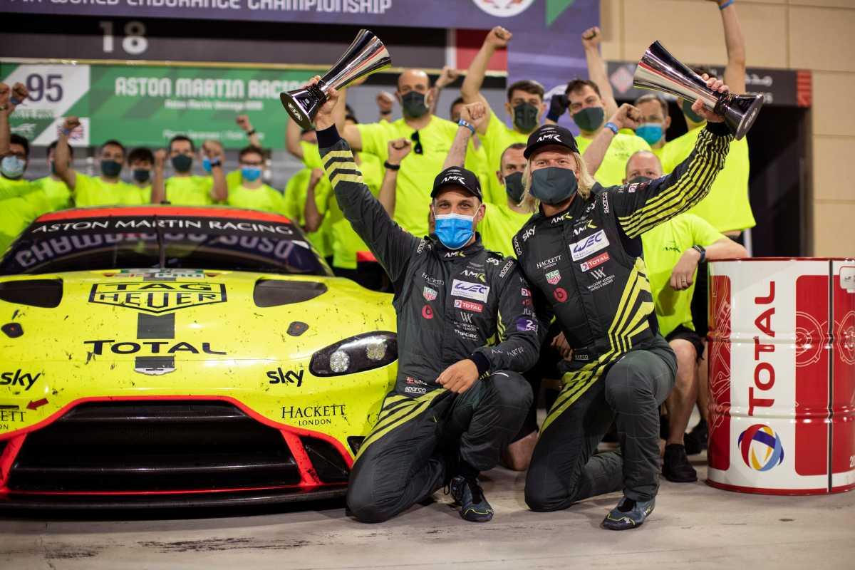 Aston Martin Racing Team Secures World Endurance Drivers Championship